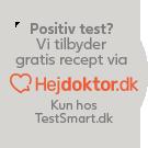 Få gratis recept via Hejdoktor.dk når du handler hos TestSmart.dk